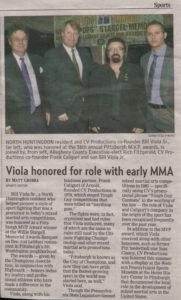 Bill Viola Jr. MMA Historian